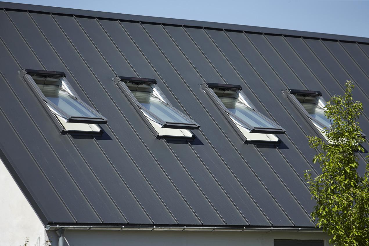 Privat bolig - Ovenlys vinduer